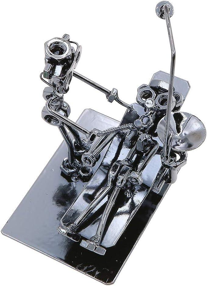 Figura de Doctor para Dentista Regalo Oficina Clinic Decoraci/ón 8213 Gino Creative Orthopedic Dentist Performing Oral Operation Estatua de Metal Iron Man Estatua Ornamento