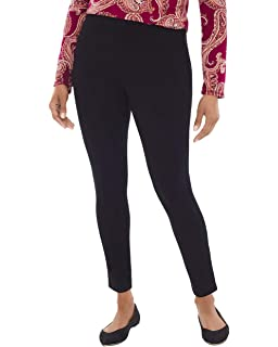 f8298bd01ae5a Chico's Women's Ponte High-Waist Pull-On Leggings at Amazon Women's ...