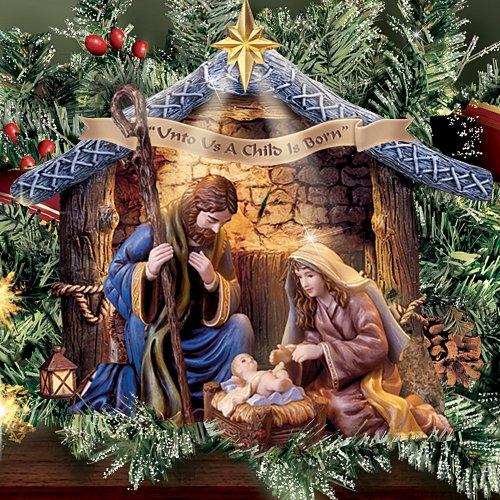 Thomas Kinkade Nativity Garland Set by Hawthorne Village by Hawthorne Village (Image #1)