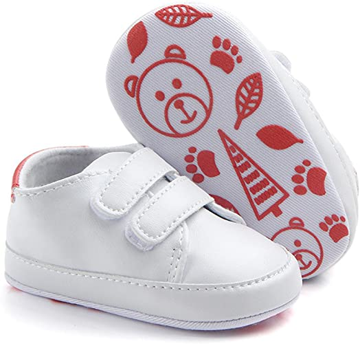 Zapatos de niña y niño, Botas y Botas Infantiles con Lluvia en la Parte Inferior de la Edad para bebé, Suela Suave y Suela Suave, (Rojo), 12: Amazon.es: Zapatos y complementos