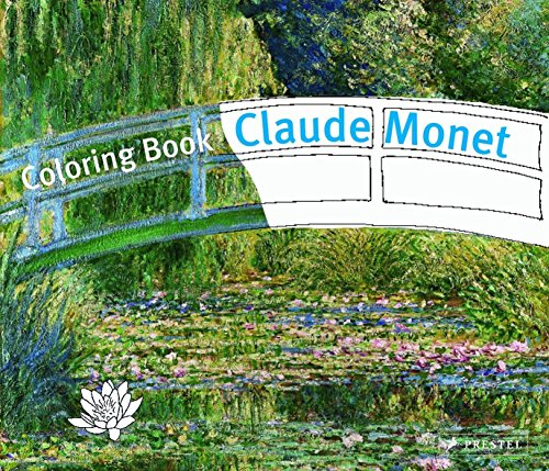 Coloring Book Monet (Prestel Coloring Books)