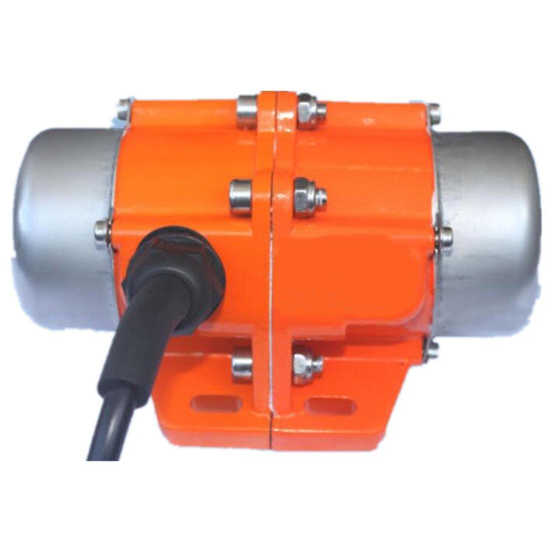 Concrete Vibrator Vibration Motor AC220V Aluminum Alloy Vibrating Vibrator Motor 3600rpm (40W)