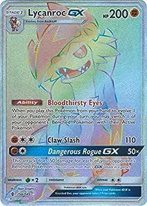 Pokemon 1x Lycanroc GX Ultra Rare NM Sun /& Moon 2 Guardians Rising 74//145