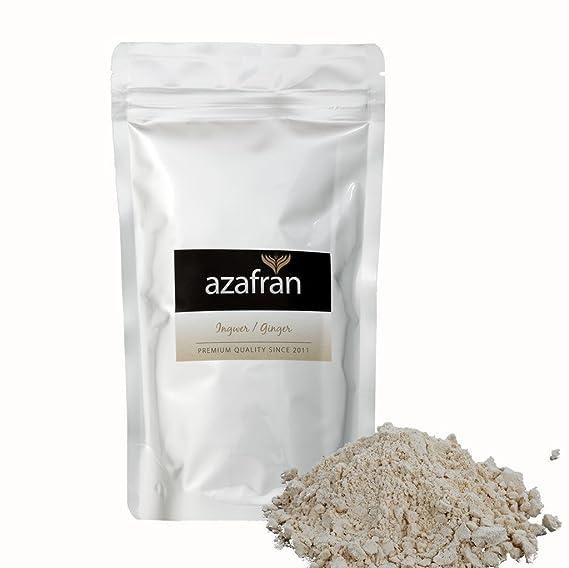 Bio de jengibre – Jengibre polvo – Jengibre raíz gemahlen (250G) de azafran®