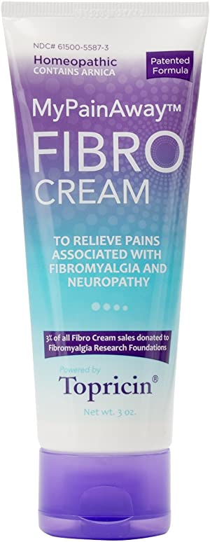 Topricin Fibro Pain Relieving Cream (3 oz) – Rapid Relief for Fibromyalgia with Patented Formula - Reduces Duration and Intensity of Fibromyalgia Episodes, Improves Sleep and Restores Energy