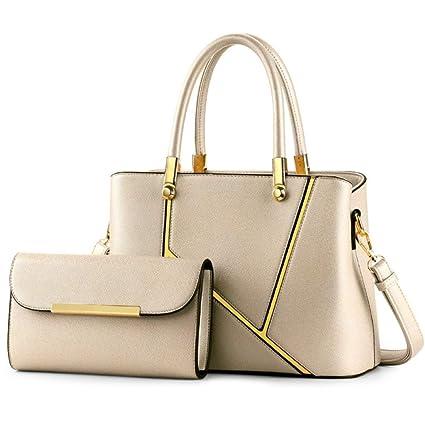 4e671a1a5f Amazon.com  ZYqi Fashion Lady Handbag Shoulder Bag Diagonal Package (Color    Gold)  Home   Kitchen