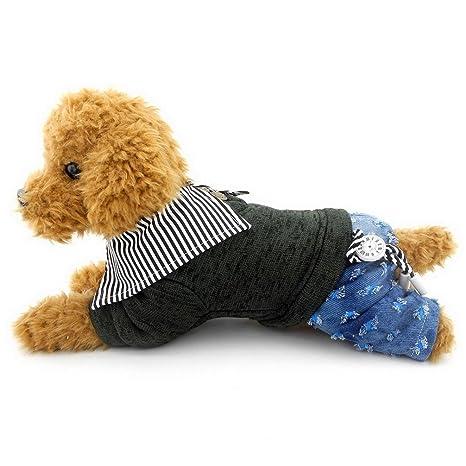 Ranphy Ropa para Perro niñas y niños de la versión Coreana con ...
