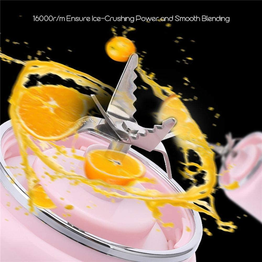 Frullatore Ad Alta Velocità Estrattore Di Nutrienti Frullatore Da Cucina Portatile Usb Ricaricabile Juicer Cup Impastatrice Portatile Per Frutta Miscela Potente Blu Blue