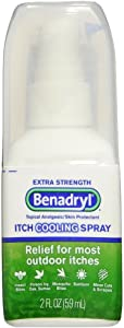 Benadryl Itch Relief Spray for Extra Strength, 2 Count