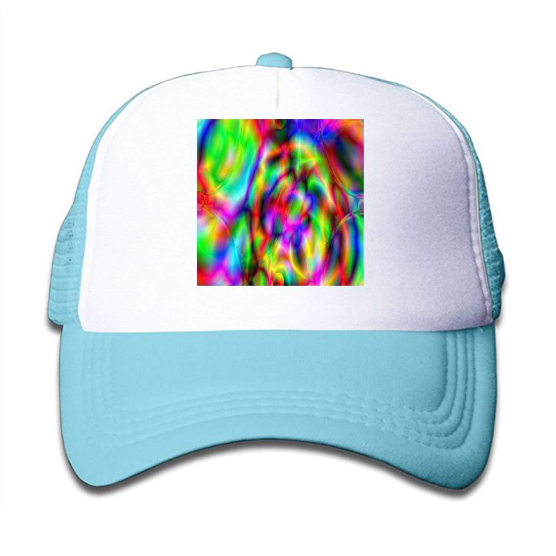 dd11c5dec Amazon.com: Kids Abstract Artistic Trucker Hats,Youth Mesh Caps ...