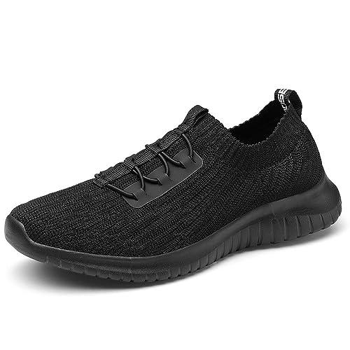 17de29b0e2a5c TIOSEBON Women's Slip On Walking Shoes Lightweight Casual Running Sneakers