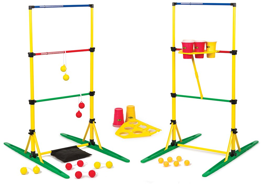 Go! Gater Ladderball and Party Pong Set by EastPoint Sports