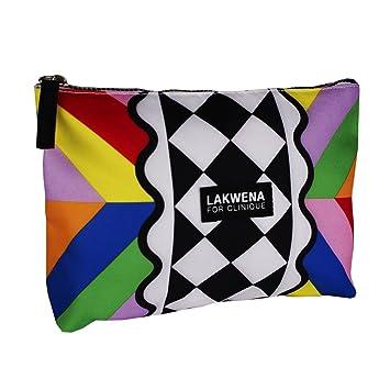 Clinique por lakwena Multicolor cosméticos maquillaje bolsa ...
