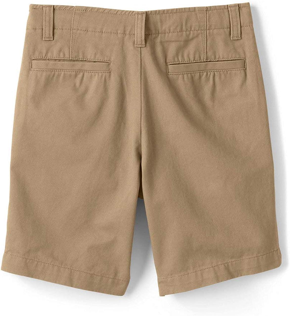 Lands End Boys Cadet Shorts Cadet Gray Big Slim 10