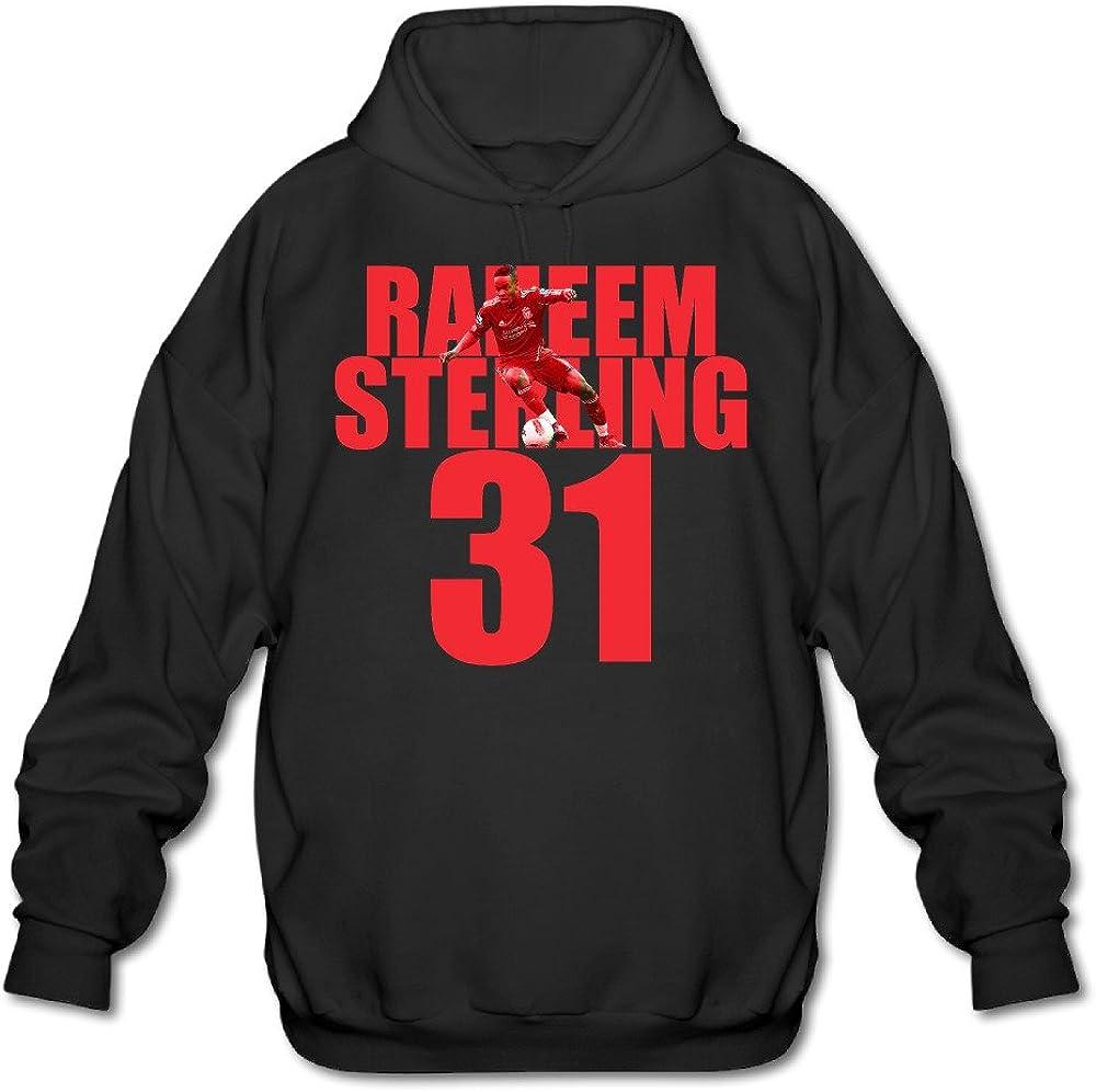 Raheem Sterling Black PTR Mens Hoodie