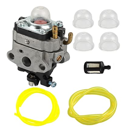 Amazon com: Anzac Carburetor with Primer Bulb Fuel line for MTD Troy