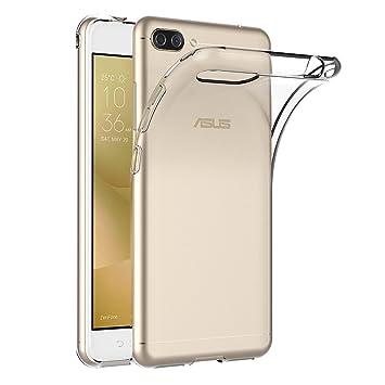 AICEK Funda ASUS Zenfone 4 MAX ZC520KL, Transparente Silicona Fundas para Zenfone 4 MAX ZC520KL Carcasa Silicona Funda Case (5,2 Pulgadas)