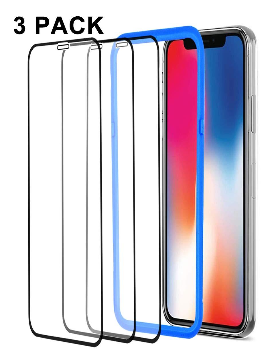 Vidrio Templado Para iPhone Xs Max [3 Un.] Yfwood