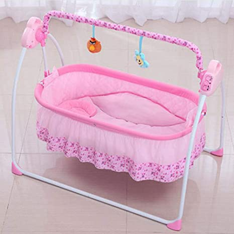 NuoEn Silla para bebes cuna, silla del oscilación eléctrica ...