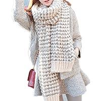 PIXNOR Women's Lady Winter Warm Scarf Wool Wrap Scarf