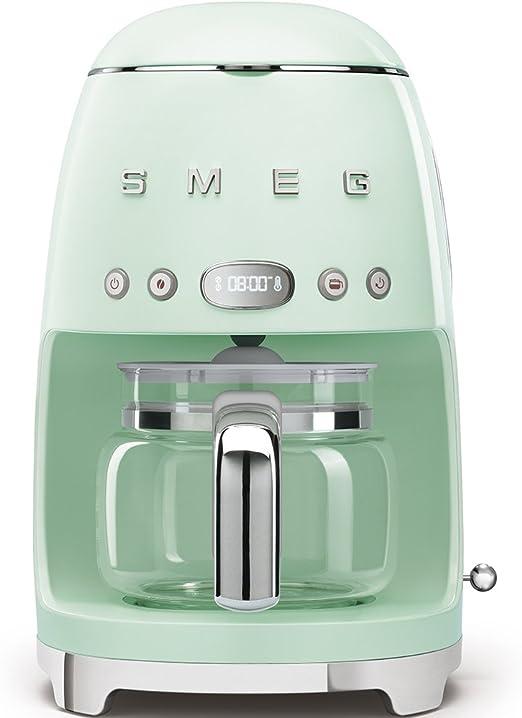 Smeg dcf01pgeu cafetera, Verde Pastel: Amazon.es: Hogar