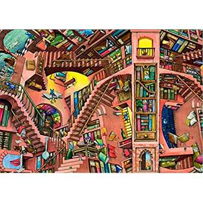 Ravensburger 14180 Amici Tra Gattolino E Coniglio Puzzle 500 Pezzi