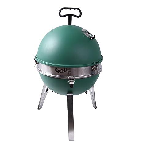 lisli multifuncional Mini portátil Camping Grill – Barbacoa de carbón barbacoa estufa de acero inoxidable Mini