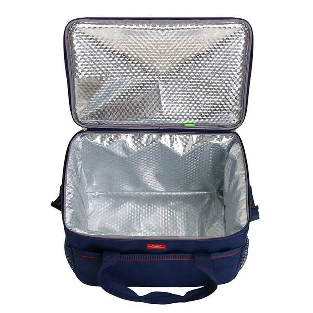 L&Z Tragbare Reise Picknick Notwendigkeit Notwendigkeit Notwendigkeit Kit Thermische Isolierte Tote Lunch Bag Übergroße Kühler Lunchbox Handtasche 39L B07H7LQXQN Taschen Niedrige Kosten 6c2b83