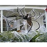 Unomor 7.5 ft Giant Halloween Spider Largest