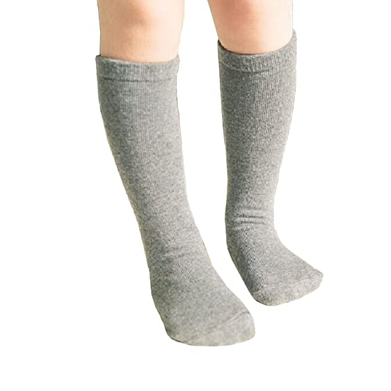 Amazon Com Qteland Solid Color Unisex Baby Knee High Socks Tube