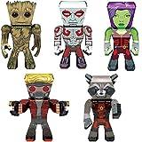 model kits marvel - Fascinations Metal Earth 3D Metal Model Kits Marvel Guardians of the Galaxy Complete Set of 5 - Groot - Rocket - Drax - Gamora - Star-Lord