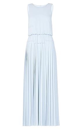 e95b53fa1f7 Amazon.com  BCBG Maxazria Jenine High Split Pleated Skirt Maxi Dress ...