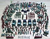 detailed toy soldiers - MCpinky 307 PCS World War II Army Men,War Soldiers with Hand Bag,Toy Soldiers Set,Gift for Kids