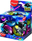 Maped 1 Hole Galactic Pencil Sharpener - Assorted Colours (Box of 24) 503700