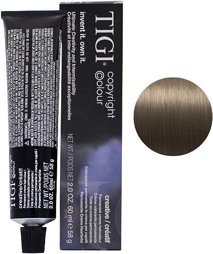 Tinte para el cabello Tigi Bed Head Copyright Color Creative 6/1, rubio azul oscuro, 60 ml