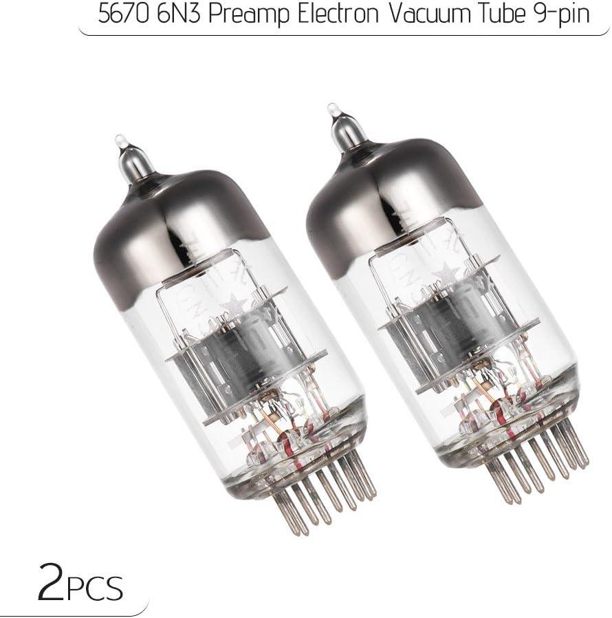 5670 6N3 Preamplificatore Elettronico Tubo a vuoto a 9 pin per 6N3P 2c51 5670 396A Amplificatore per tubo