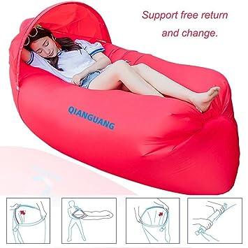 QG® Original Diseño 0,9 kg portátil rápido hinchable sofá/cama ...