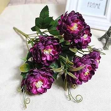 Doolland Fake Blumen Vintage Pfingstrosen Kunstlich Seide Blumen