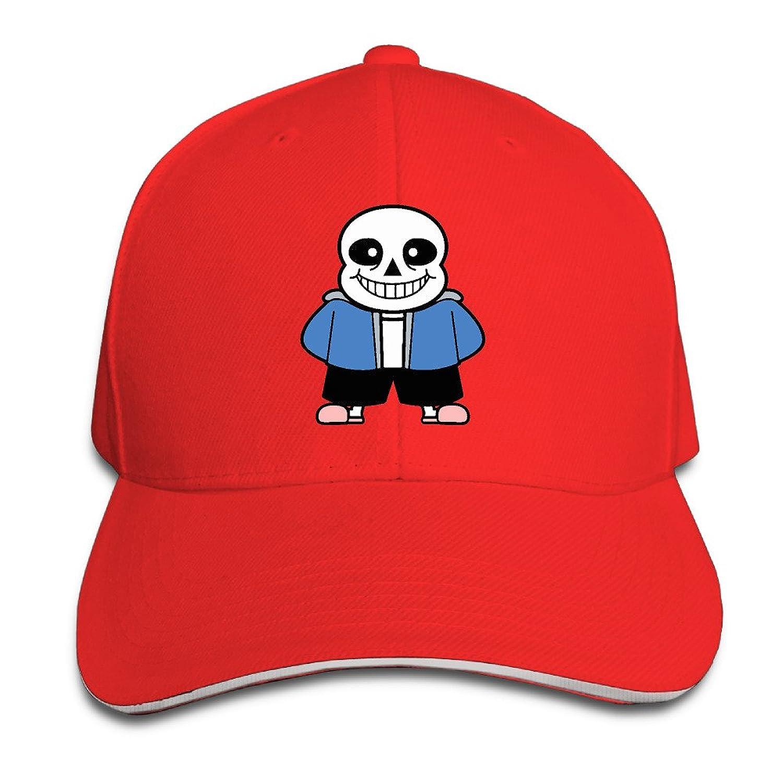 MYDT1 Unisex Undertale Sans Outdoor Sandwich Peaked Caps Hats