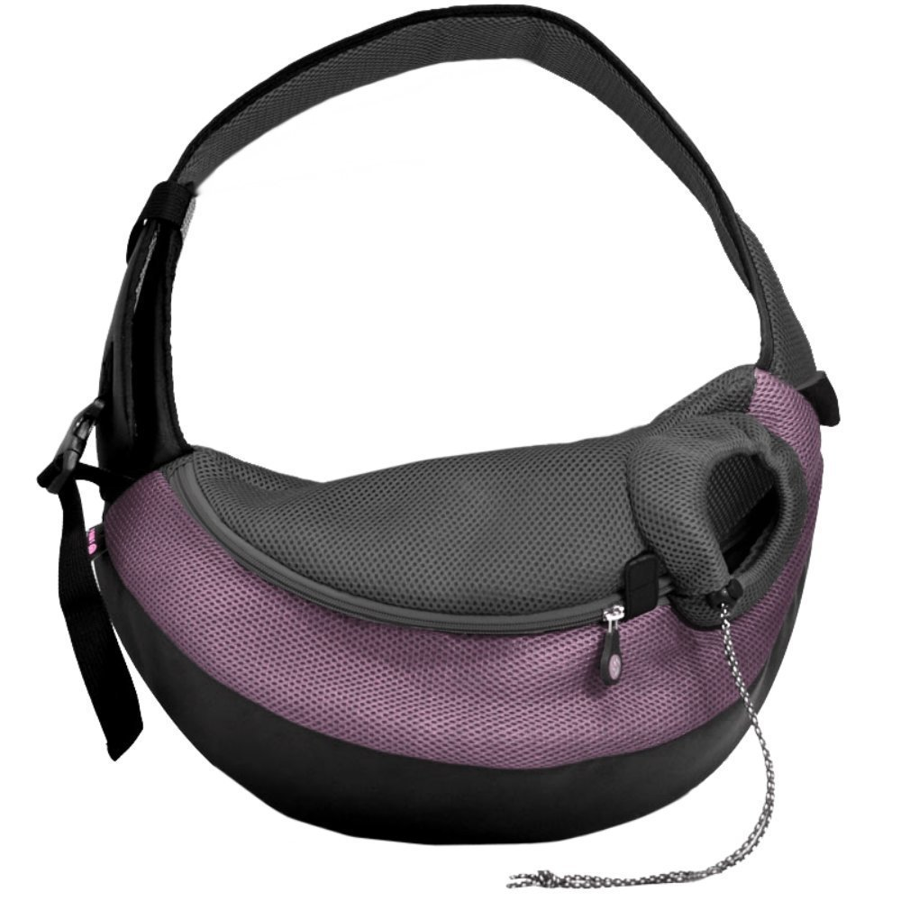 Crazy Paws Pet Sling Large Lilac Wacky Paws DPETC024-LL