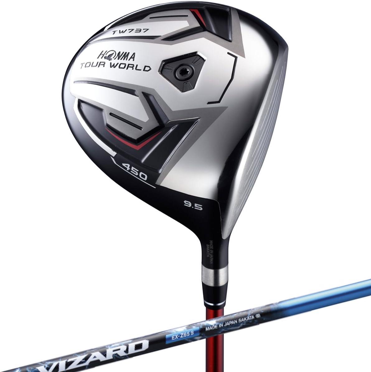 本間ゴルフ ドライバー TOUR WORLD ツアーワールド TW737 450 ドライバー 9.5度 VIZARD EX-Z 65シャフト フレックス:S TW737-450 右 ロフト角:9.5度 番手:1W