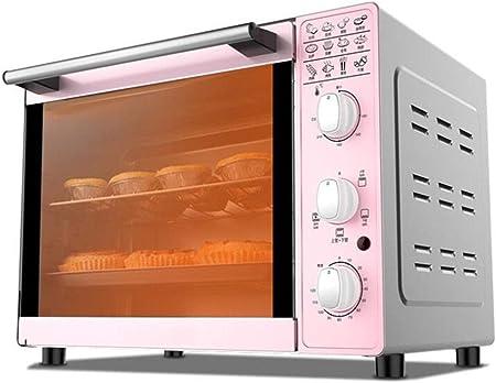 Horno eléctrico, 33L horno multifunción, utensilios for el hogar for hornear, 4-tubo superior e inferior de temperatura controlada calentando horno se puede utilizar en la cocina / pastelería / restau: Amazon.es