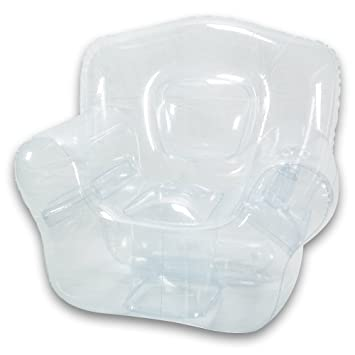 Inflatable Bubble Chair, Crystal Clear: Amazon.ca: Home & Kitchen