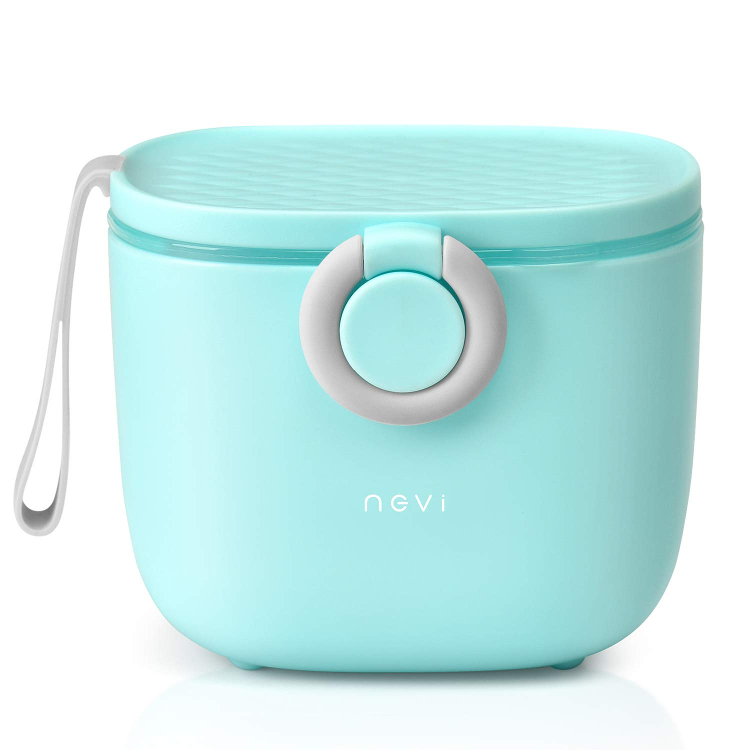 NCVI Baby Formula Dispenser with Scoop,16oz Milk Powder Dispenser Container Food Storage, Candy Fruit Box, Snack Containers, for Infant Toddler Children Travel (Blue)
