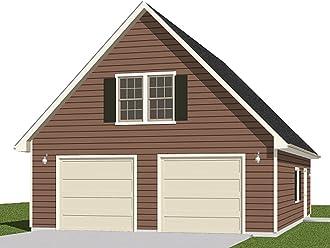 Amazon com: Garage Plans By Behm Design