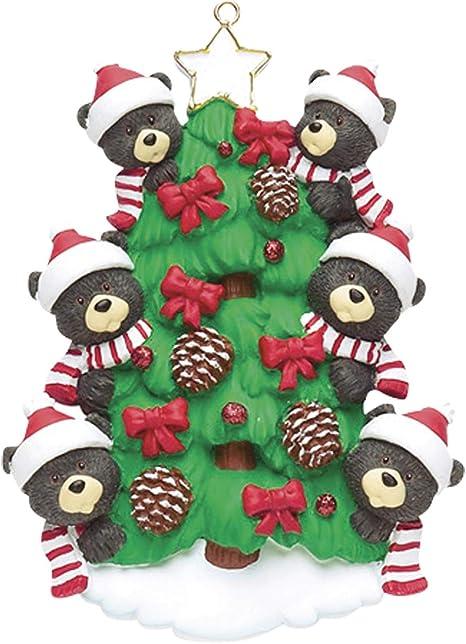 Christmas Decoration Ornaments Xmas Tree Cute Mini Bubble Bear Hanging Pendants