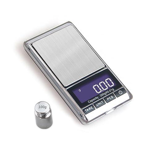 Amazon.com: uniweigh portátil balanza electrónica gramo 100 ...