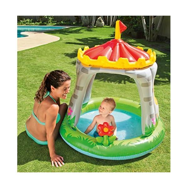 Intex 57122 Royal Baby Castello- Piscina per Bambini 1-3 anni, Multicolore, 122 x 122 cm 2 spesavip