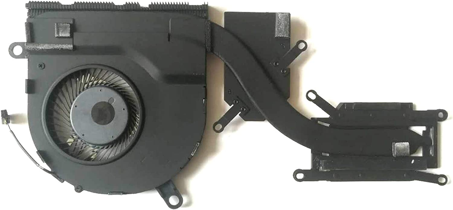 HK-Part Fan Replacement for Dell Latitude 5480 5490 CPU Cooling Heatsink Fan Assembly for Discrete Graphics U-Type CPU - DP/N NV7FD, NV7FD