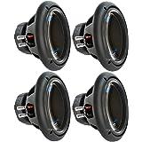 """4) PLANET AUDIO AC10D 10"""" 6000W Power Car Audio Subwoofers Power Subs Woofers"""